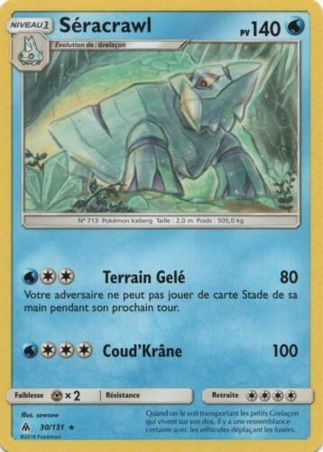 Pokemon - Séracrawl - Rare - SL6 - 30/131 - VF Français