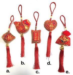 Hanging Charms Fu Lucky Good Fortune
