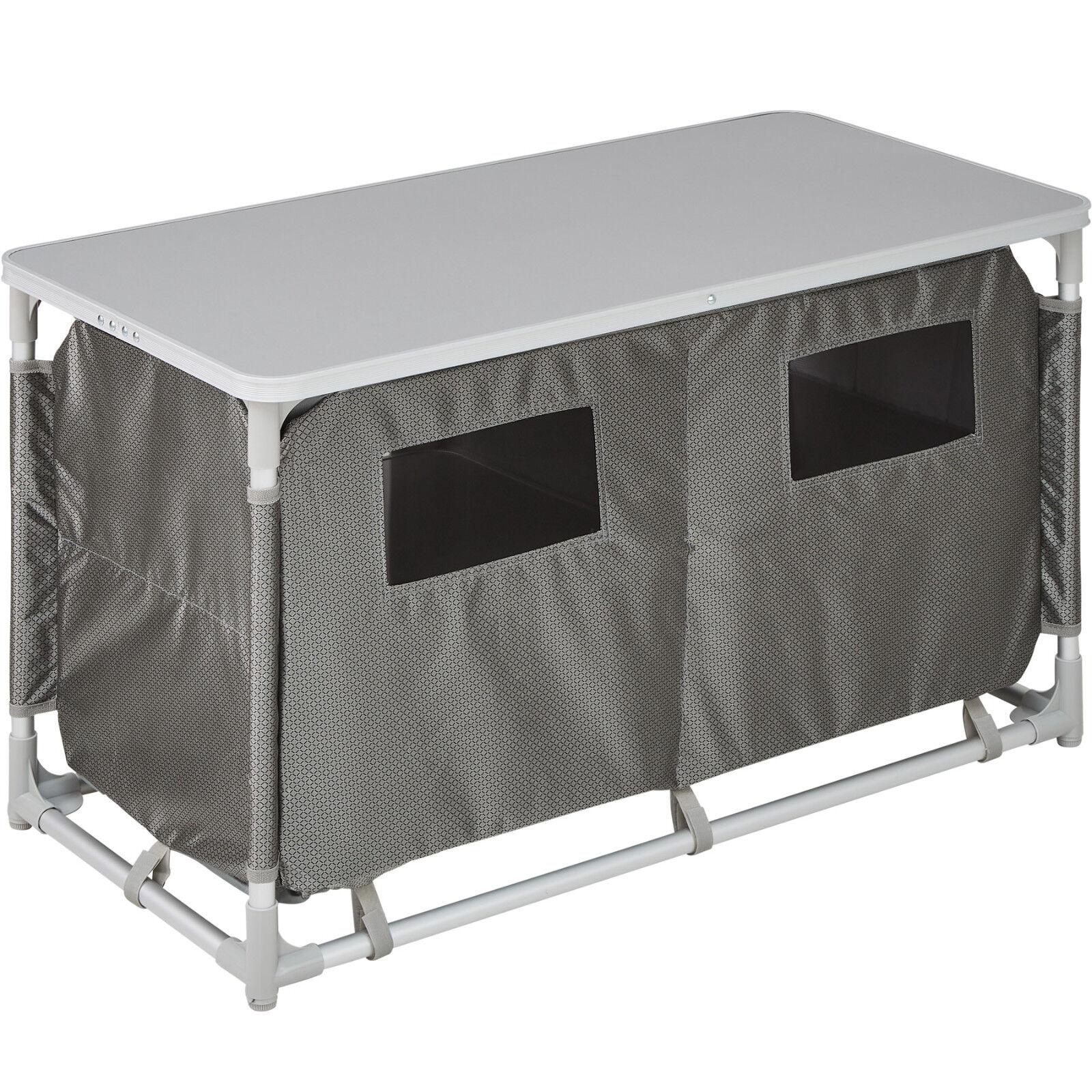 Armadietto da da da campeggio alluminio tavolo box cucina da esterni ...