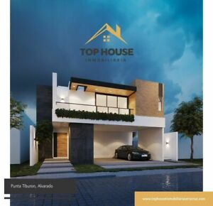 Casa en Punta Tiburon con Terraza