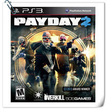 PS3 Payday 2 SONY PLAYSTATION Games Action 505 Games