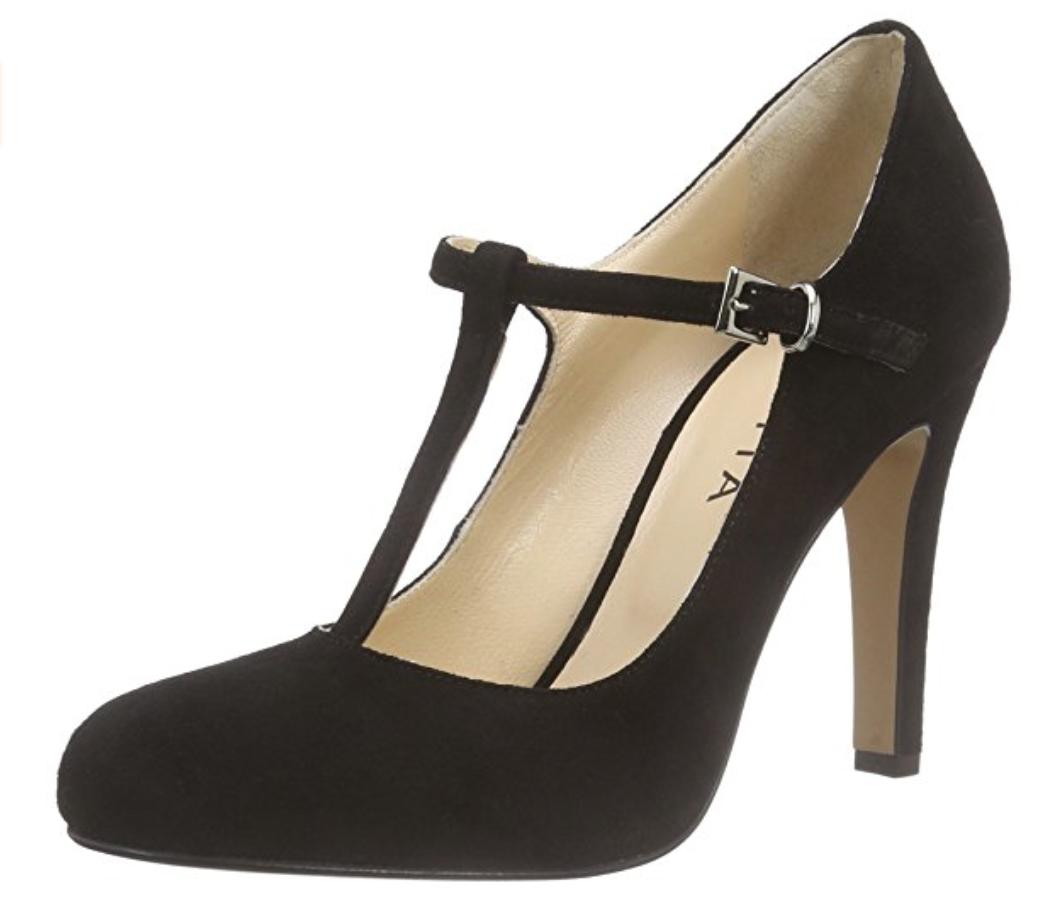 Damen Schuhe Evita 35, Schuhes Damen Pumps, Gr. 35, Evita Wildleder, Neu, f23ec3