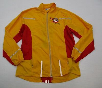 Women's Clothing Faithful Leslie Jordan #k1434 Women's Size M Lightweight Hbo Athletic Yellow Track Jacket Activewear