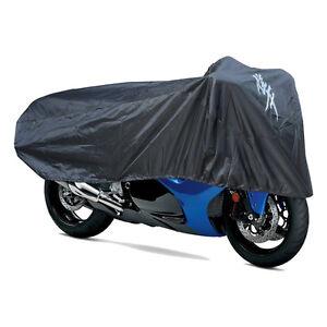 Suzuki-Hayabusa-Half-Cover-in-Black-w-Logo-Fits-All-Hayabusa-039-s-Genuine-Suzuki