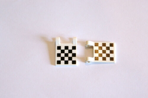 Chequered Flag 2335p 2 x 2 Pack of 2 LEGO Accessories