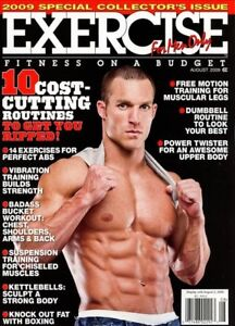 Image Is Loading Exercise For Men Only Magazine August 2009 Muscles