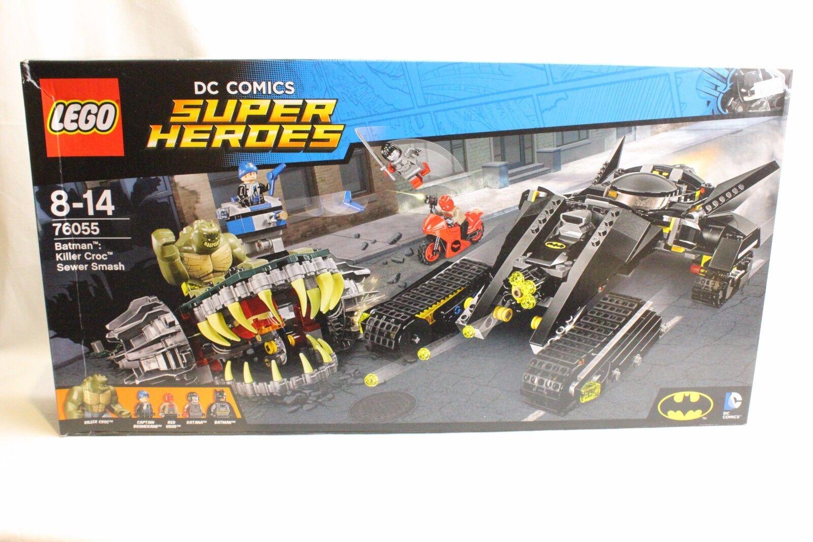 LEGO 76055 BATMAN KILLER CROC SEWER SMASH SUPER HEROES
