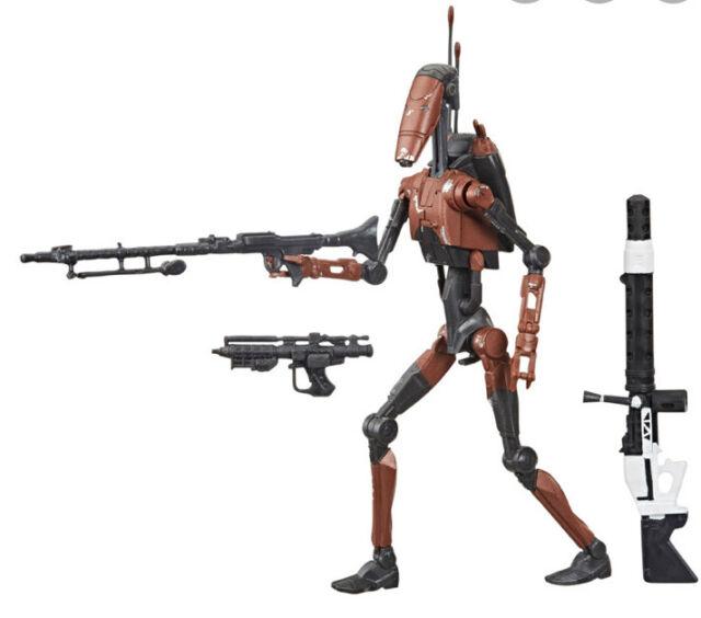 "Star Wars Black Series Heavy Battle Droid 6"" Figure GameStop Exclusive Loose"