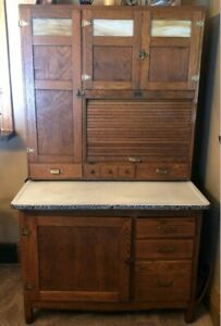 Antique Hoosier Cabinet Ebay