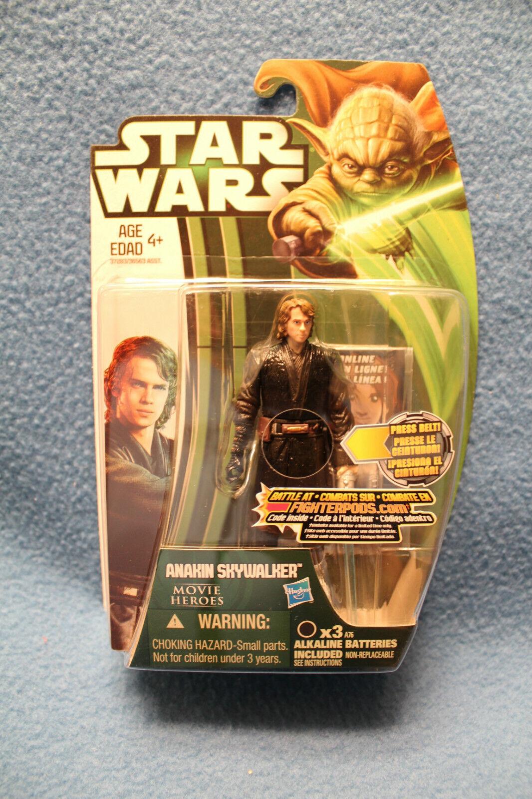 Star Wars Movie Heroes 2013 Wave Wave Wave 1 - MH02  Anakin Skywalker - Canadian Yoda Card 7bf024