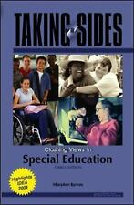 Taking Sides: Clashing Views in Special Education (Taking Sides)-ExLibrary
