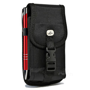 Rugged-Nylon-Vertical-Case-Belt-Clip-Holster-Pouch-For-Samsung-Galaxy-Note-5-8-9