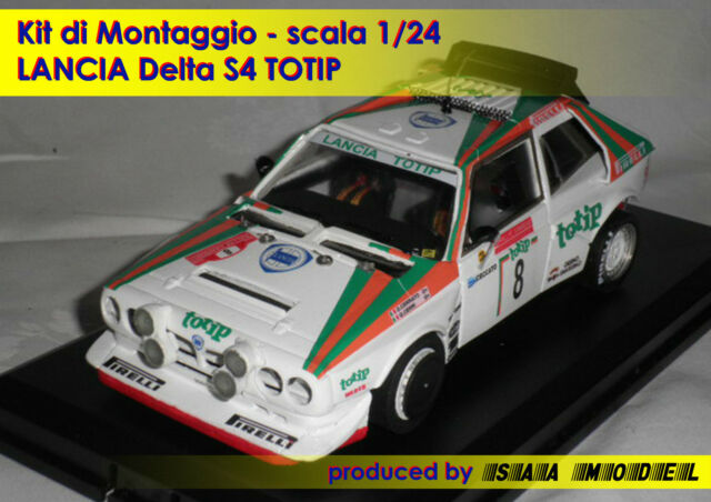LANCIA DELTA S4 - Totip Rally Cerrato Cerri 1/24 1 24 RESIN KIT by MODEL PROJECT