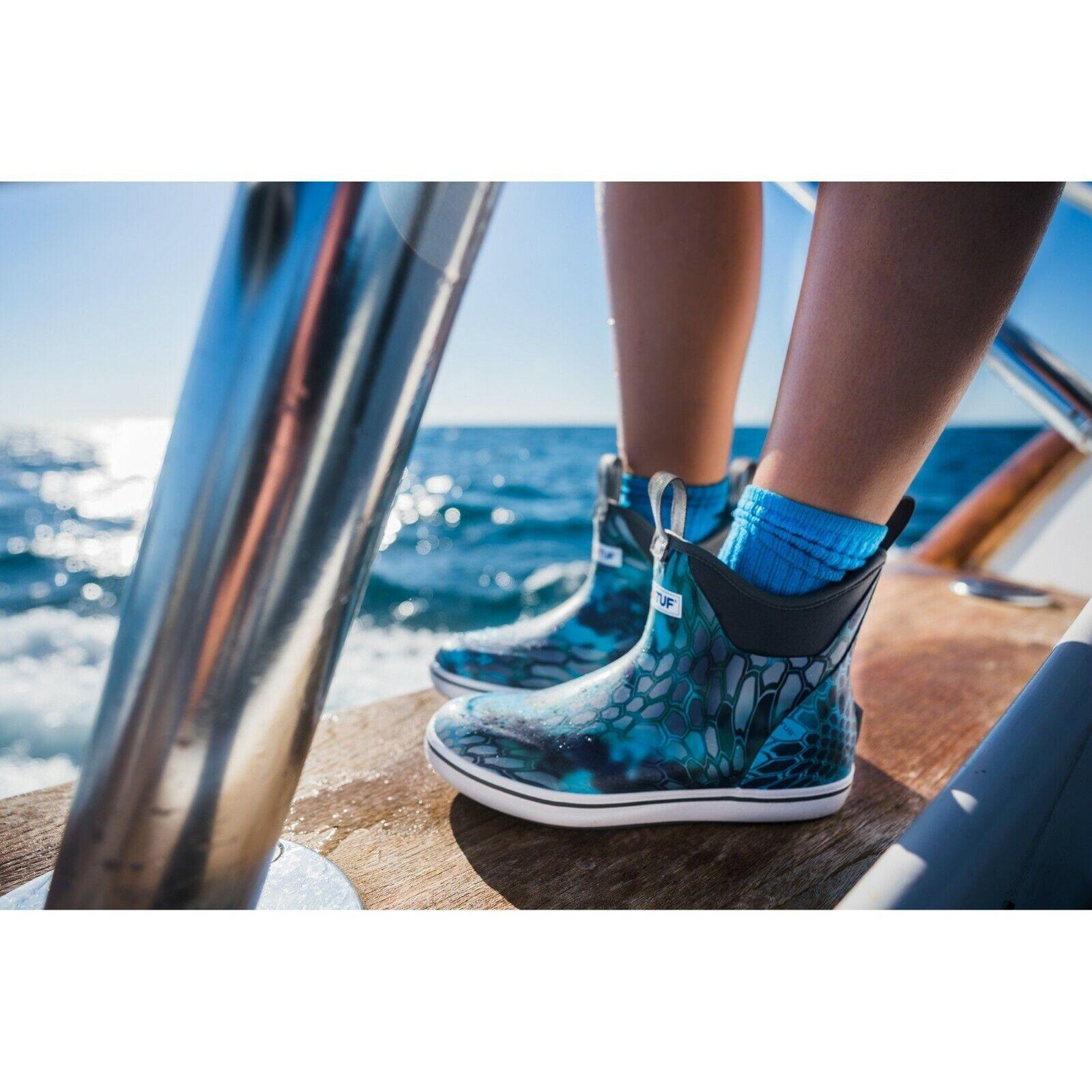 XTRATUF para mujer 6  Kryptek Ponto tobillo Cubierta  bota-Pesca canotaje-Elige tamaño  estilo clásico