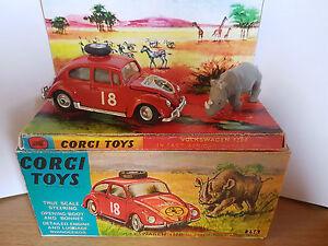 CORGI-256-East-African-Safari-Beetle-Rhino-amp-Box