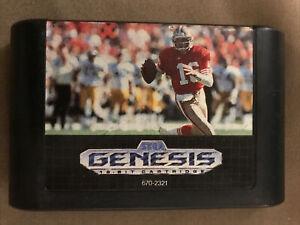 NFL Sports Talk Football '93 Starring Joe Montana (Sega Genesis)