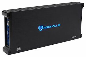 Image Is Loading Rockville Db45 W Rms 4 Channel