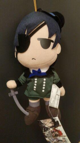"NWT AUTHENTIC Black Butler Ciel Kuroshitsuji 8/"" Plush Anime GE Animation//Aniplex"