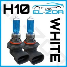 H10 42w SUPER WHITE XENON UPGRADE HID FRONT FOG LAMP LIGHT BULBS PAIR