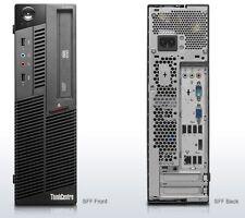 PC IBM Lenovo Thinkcentre M90p Core i5 3,33GHz 8GB 120GB SSD DVD Win7 SFF