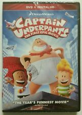 Captain Underpants The First Epic Movie Dvd 2017 Spindle For Sale Online Ebay
