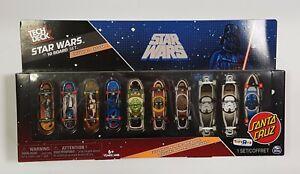 NEW-Tech-Deck-Collectors-Fingerboard-Set-Santa-Cruz-Star-Wars-TOYSRUS-Exclusive