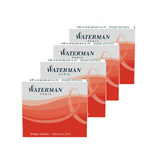 Waterman Mini Ink Cartridges Audacious RED x 24