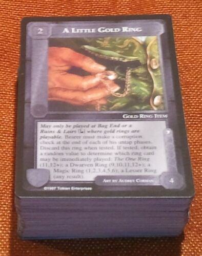 MECCG CCG Middle-earth Lidless Eye Common Deck Complete LE 113 Cards NEAR MINT/M