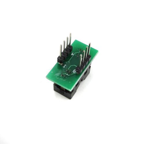 MSOP8 To DIP8 MCU Test IC Converter Socket Programmer Adapter