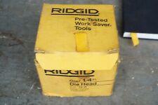 Ridgid 12 R 14 Die Head 12 R Drop Head Threader