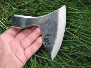 FORGED BEARDED CAMPING FOREST AXE HEAD VIKING TOMAHAWK HATCHET HUNTING TOOL