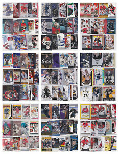 NHL-Hockey-Goalie-Card-Lots-U-Pick-From-List-Inserts-RCs-Parallels-See-Scan
