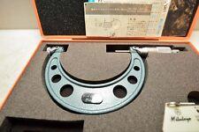 Mitutoyo 3 4 Inch Screw Thread Micrometer 126 140 Inv36572
