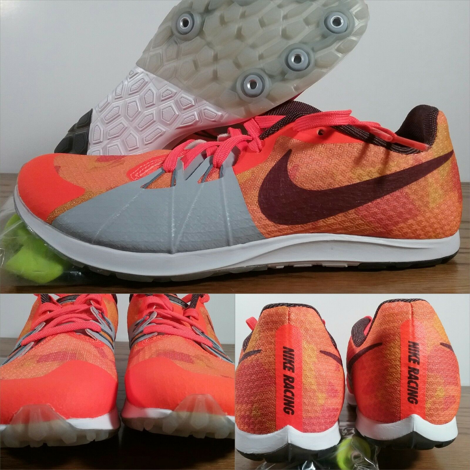 best website ca505 34d8a Nike Zoom Rival XC Cross Country Racing Racing Racing 904718-806 Orange  Mens Sizes W spikes d9ae36
