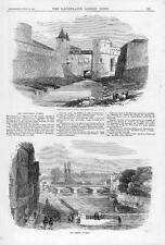 1870 FRANCE GERMAN WAR Prussian Navy Porte Des allemands METZ Arsenal (049)