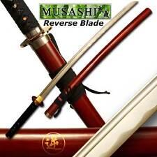 Musashi Rurouni Kenshin Hand Forged Reverse Blade Katana Full Tang (SS-698-2BR)