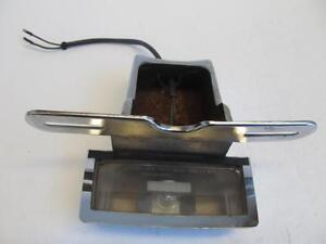HONDA-GOLDWING-GL1200-1200-1984-84-LICENSE-PLATE-BRACKET-LIGHT-FRAME