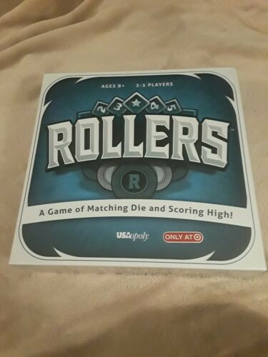 New /& Sealed Rollers Board Game by USAopoly Target Exclusive
