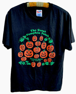 Vintage The Great Pumpkin Patch Phillips Farms Lodi California T Shirt M Ebay