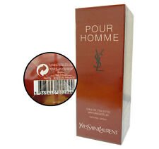 YVES SAINT LAURENT YSL POUR HOMME 100ML SPRAY EDT LOTTO 7AAA