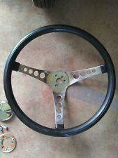 Vintage 500 Superior Steering Wheel 14 In And 55 57 Chevy Horn Install Kit