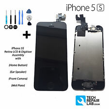 NEW LCD & Digitiser Touch Screen Fully Assembled with Parts FOR iPhone 5S BLACK