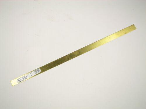 """5 Pieces Lot Hobby Craft Train Brass Strip 0.016 X 1//2/"""" X 12/"""""""