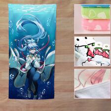 Neu Anime Fairy Tail Wendy Marvell Badetuch Handtuch Duschtuch Bath Towel