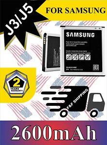 Battery-For-Samsung-Galaxy-J3-J5-2016-G550-J500-ON-5-EB-BG530CBU-2600mAh