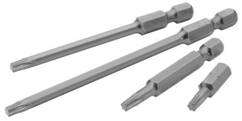 """Draper Tx-Star Insert Bit 50mm Long x 2 50TX//2 10512 Draper Expert T40 1//4/"""" Hex"""