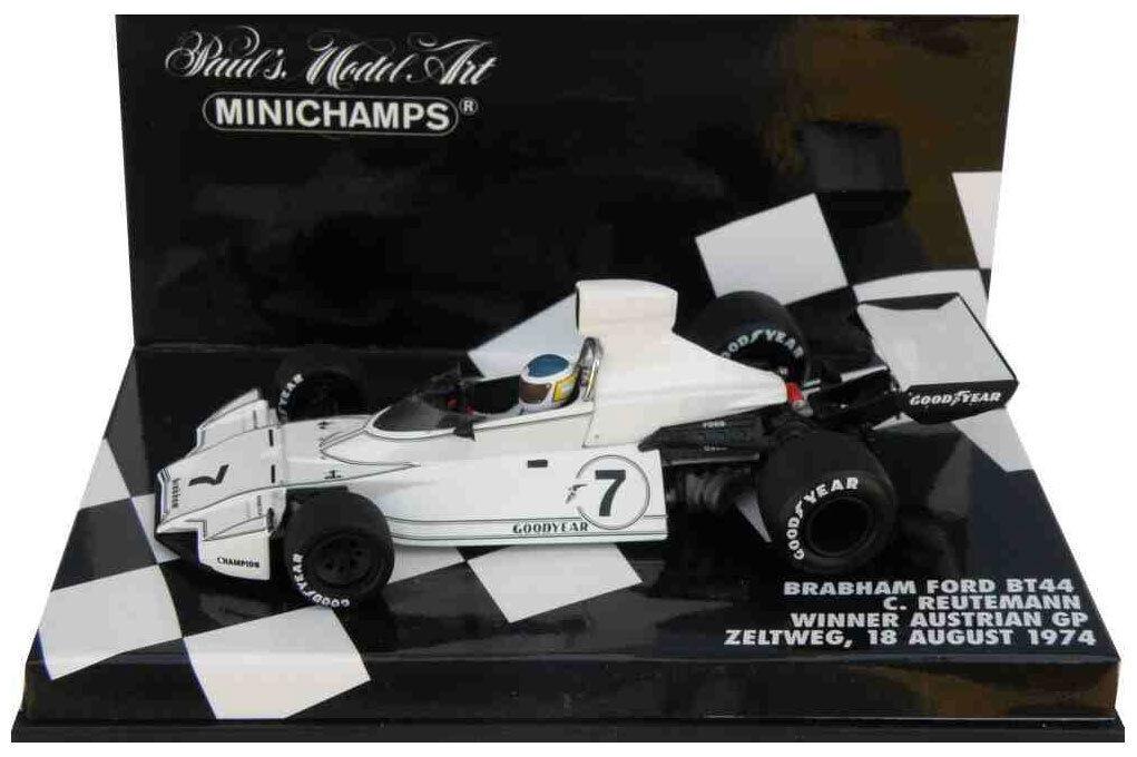 Minichamps Brabham BT44 Winner Austrian GP 1974 - Carlos Reutemann 1 43 Scale