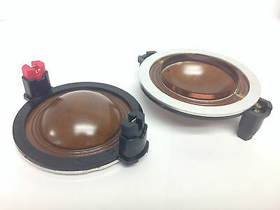"""TWEETER PHENOLIC COIL 2/""""  52.35mm 8 OHM HORN SPEAKER COIL D250X DOME 1 PIECE"""