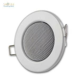 Altavoces, halógeno-Design blanco, instalación: 60mm, instalación altavoz mini, 3w  </span>