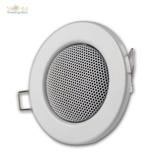 Lautsprecher, Halogen-Design Weiß, Einbau: 60mm, Einbaulautsprecher MINI, 3W